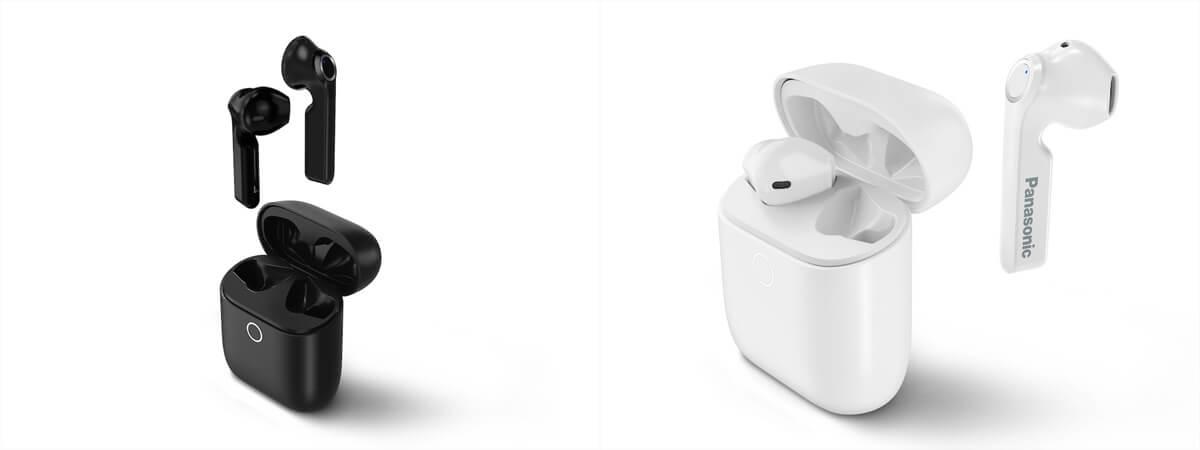 Sowohl in Schwarz als auch in Weiß erhältlich: die neuen Panasonic-In-Ears RZ-B100W