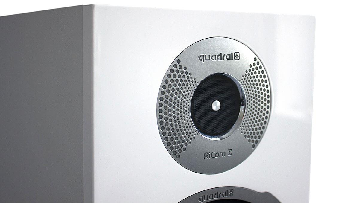 Der RiCom-Hochtöner der Quadral Signum 90 ist als Ringstrahler konzipiert