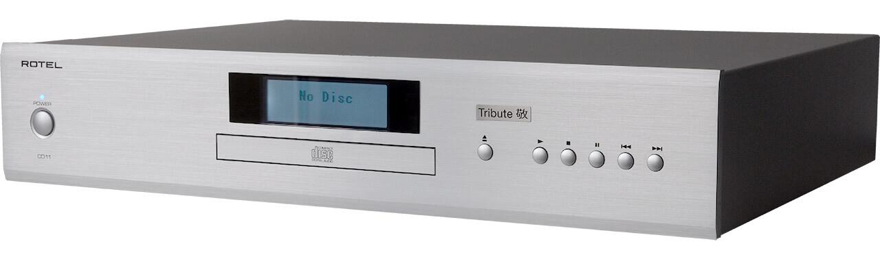 CD-Player Rotel CD11 Tribute, vorne-rechts