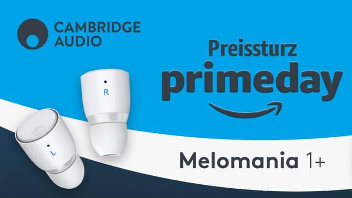 Cambridge Audio Melomania 1+ Kopfhörer: Rabattaktion zum Amazon Prime Day