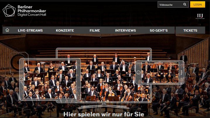 Digital Concert Hall der Berliner Philharmoniker: Jetzt neuer Qualitätsstandard mit Hi-Res Audio