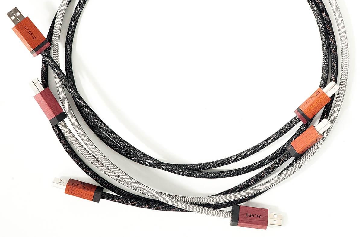 Kimber Kable Select USB CU, HY und AG mit Silber- und Kupferleitern