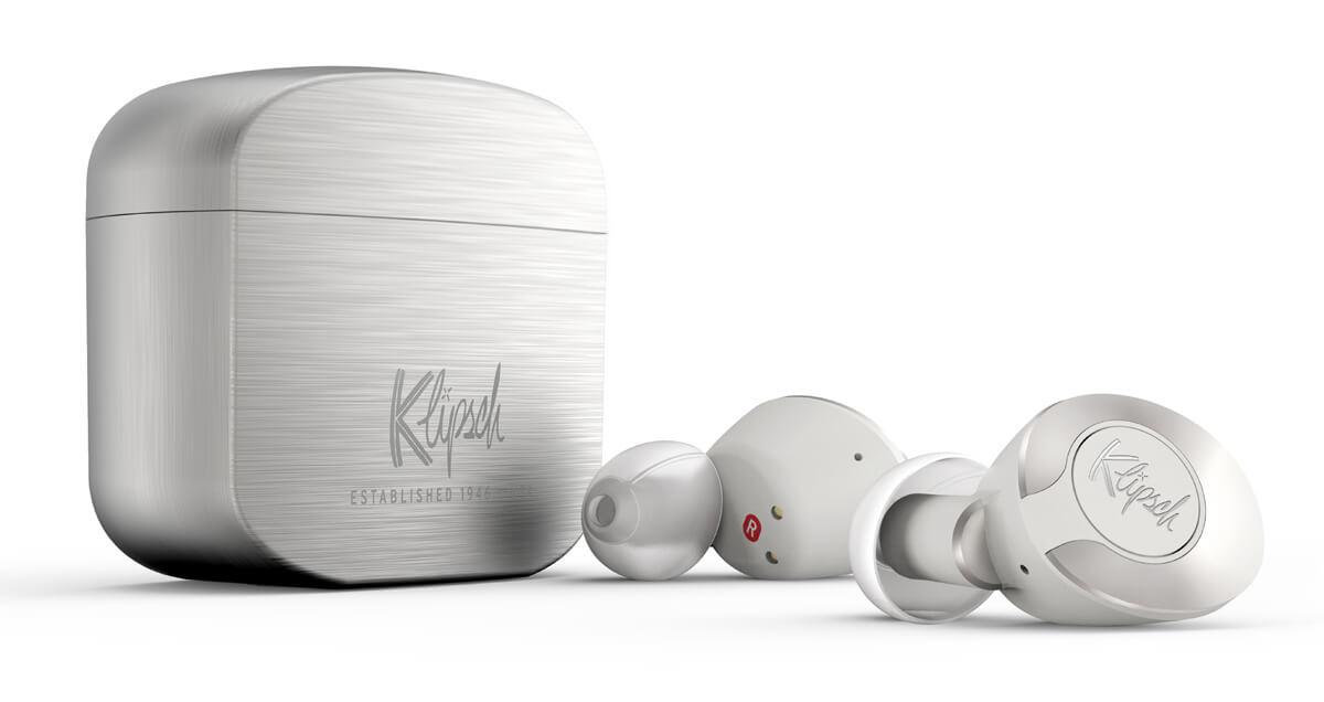 Klipsch True Wireless mit Ladecase