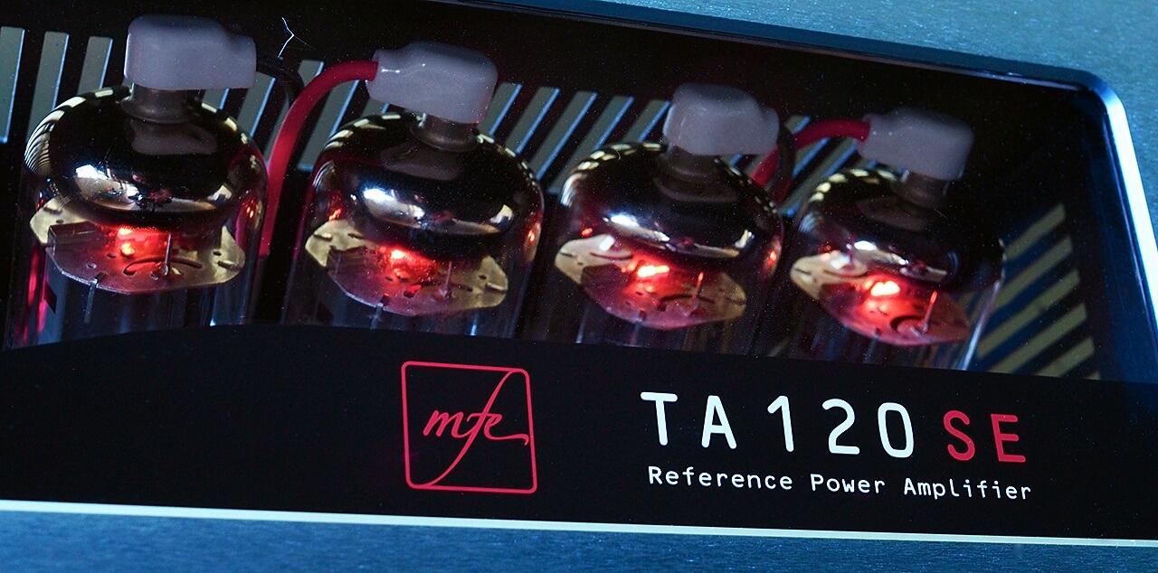 Endröhren der MFE-Endstufe TA 120 SE