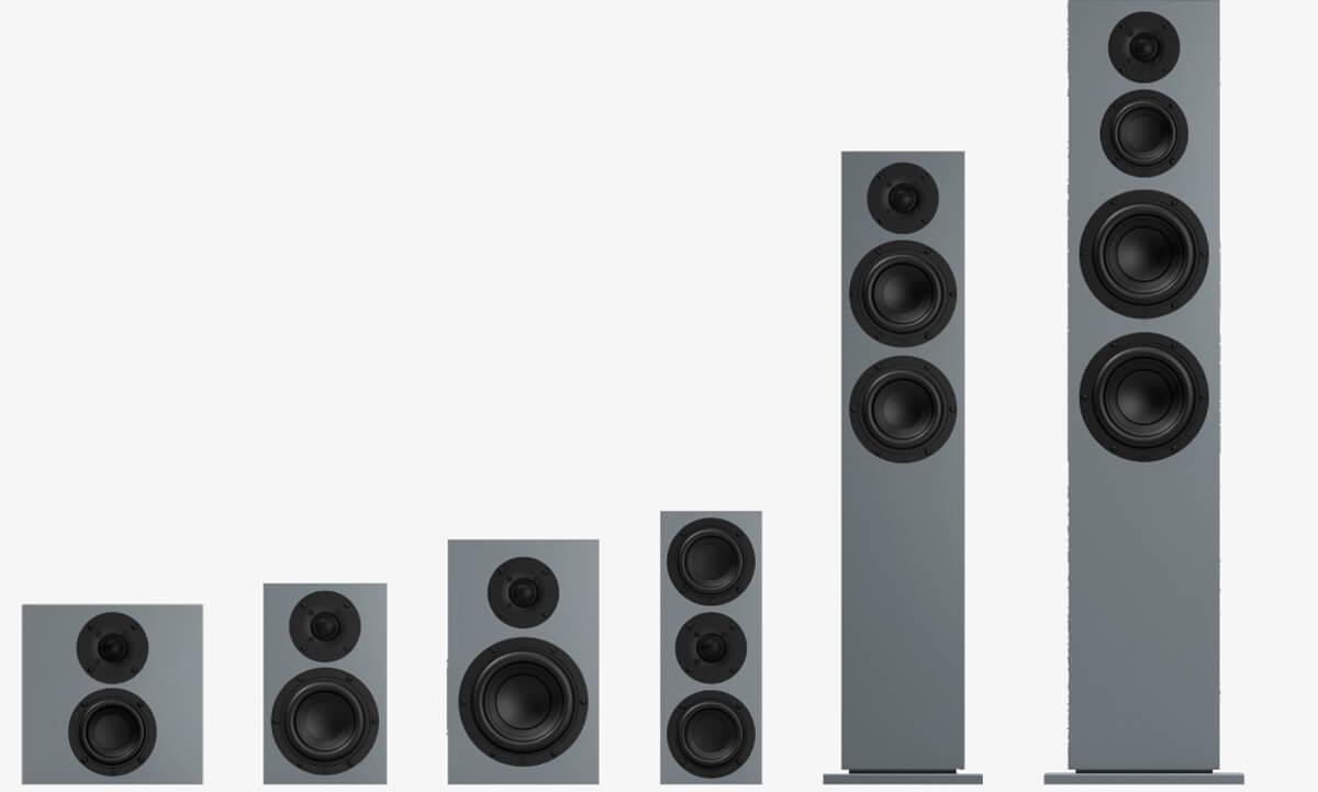 Nubert nuBoxx Lautsprecherserie: Überblick und Größenvergleich