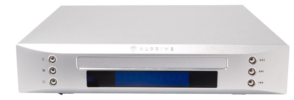 NuPrime CD-Transport: auch in Silber erhältlich