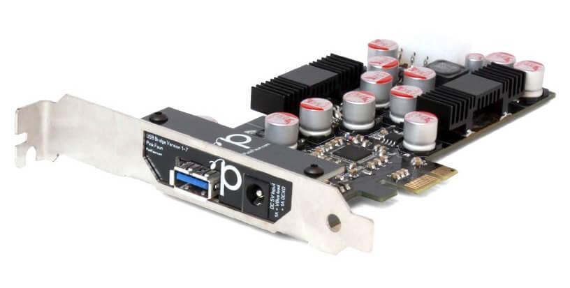 Die USB-Bridge des Pink Faun Streamer 2.16