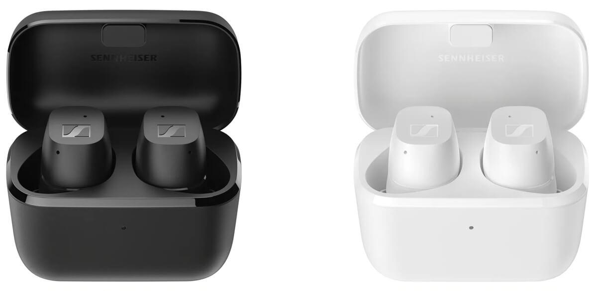 Sennheiser CX True Wireless in Weiß und Schwarz