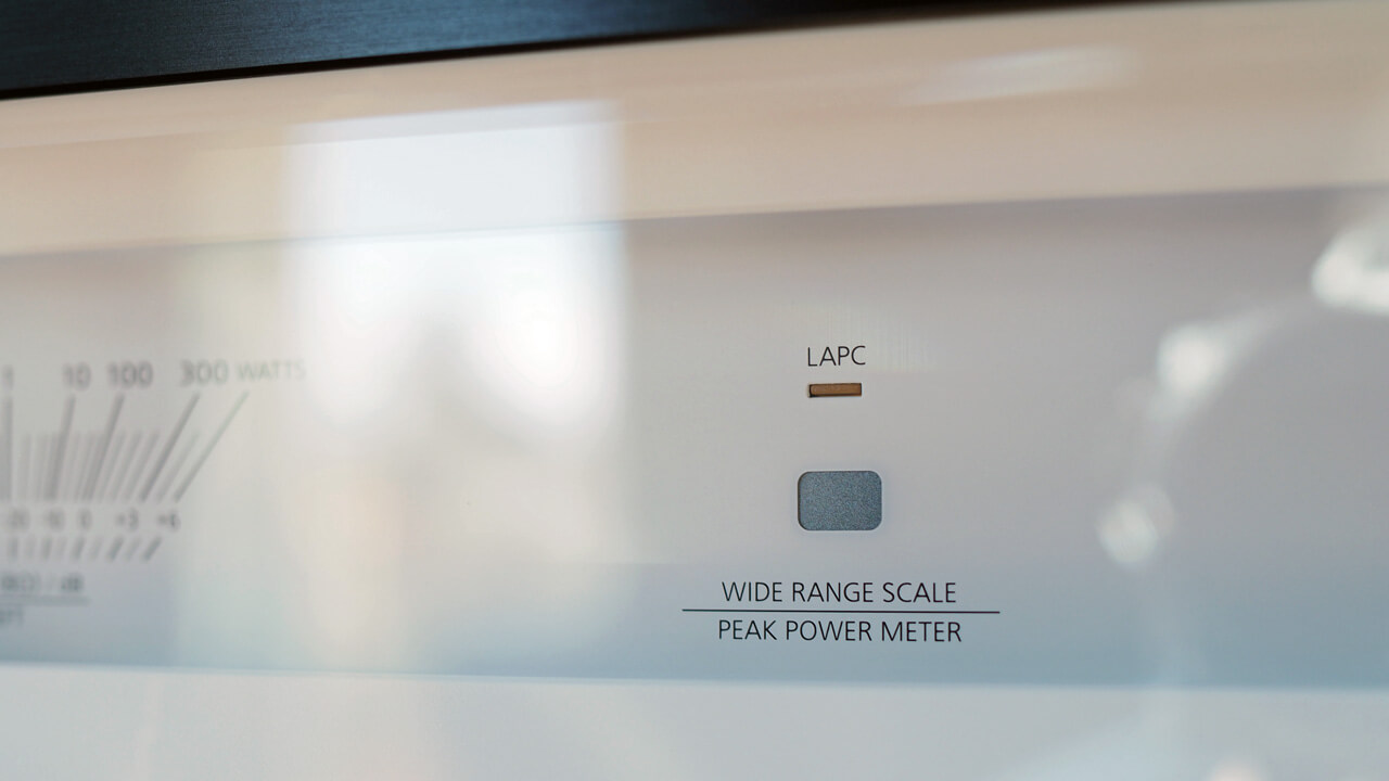Technics SU-R1000: Anzeige für LAPC