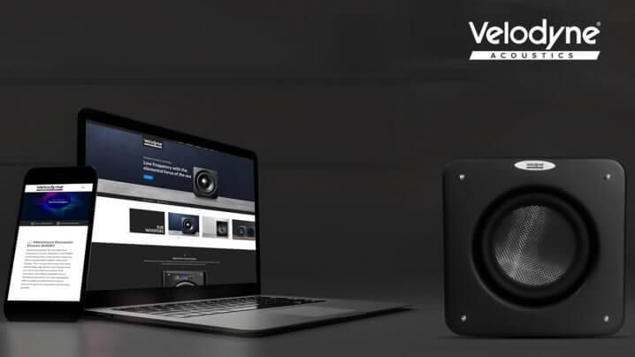 Velodyne Acoustics Website-Relaunch und neue Subwoofer