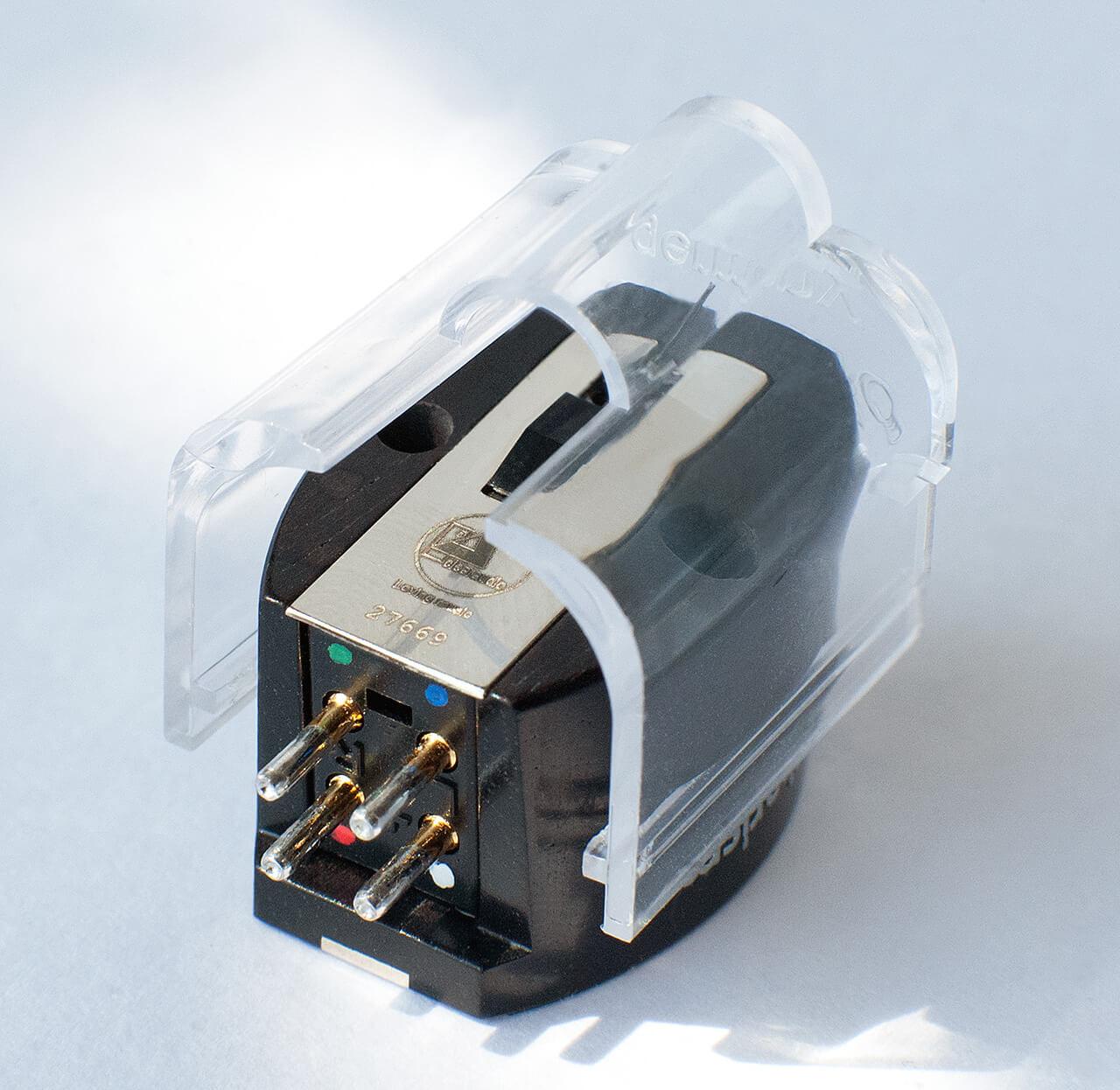 Löblich: Der Nadelschutz des Top-MM-Systems von Clearaudio