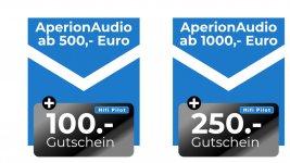 Zwei Jahre AperionAudio in Deutschland: Jubiläumsaktion mit Gutscheinen