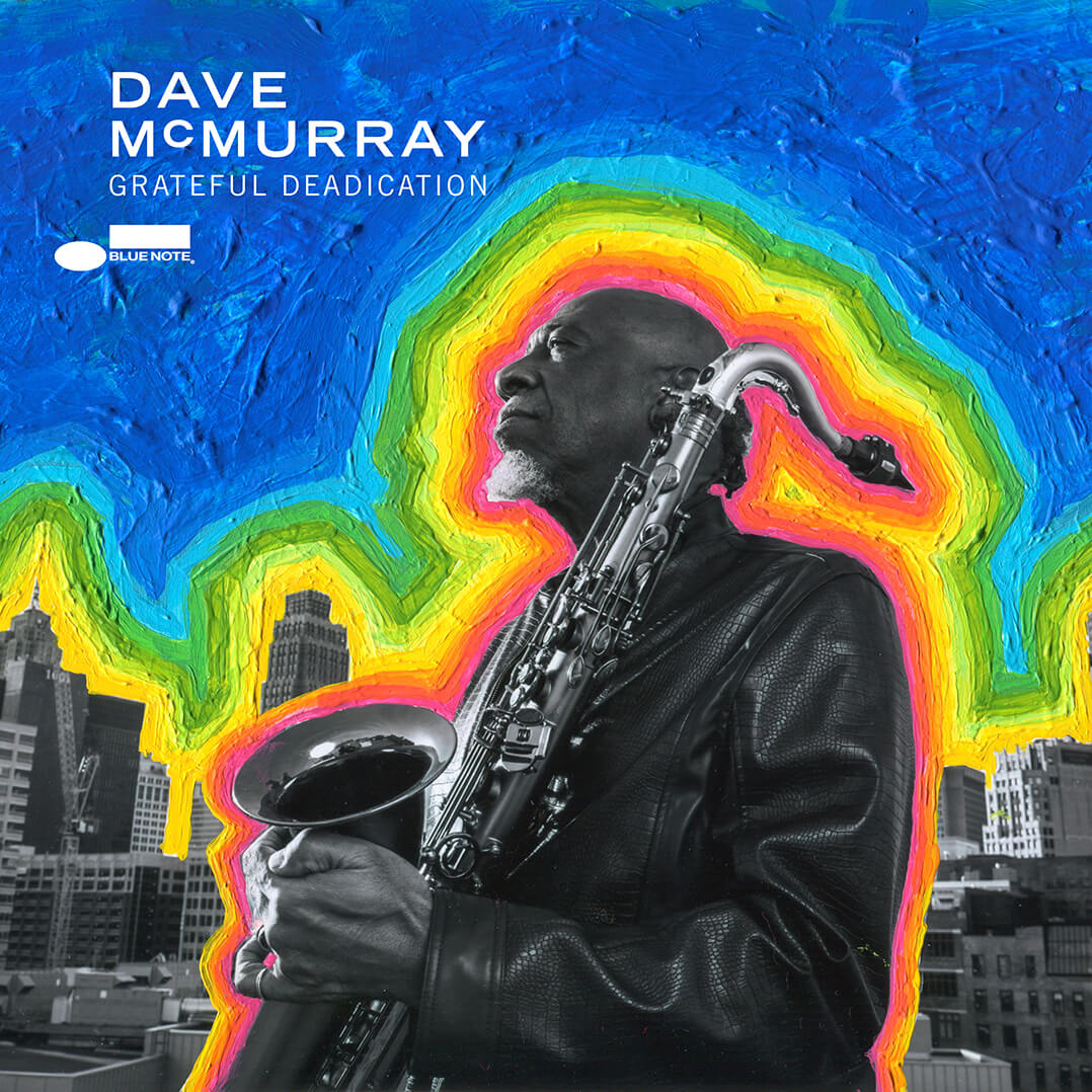 Dave McMurray Grateful Deadication Cover