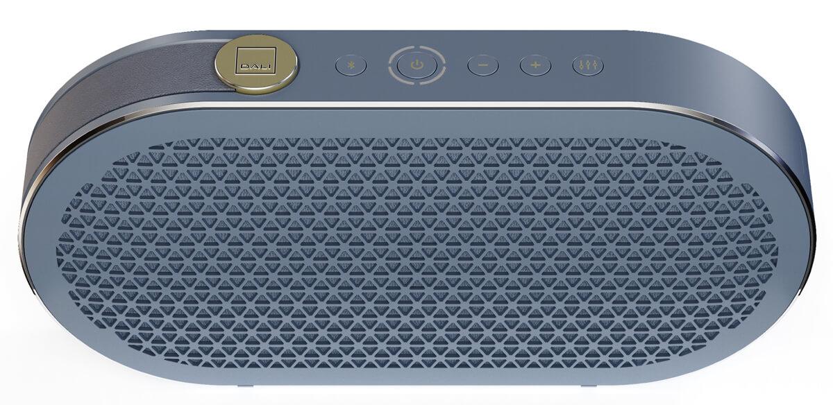 """Dali Katch G2 Bluetooth-Lautsprecher in der Farbvariante """"Chilly Blue"""""""