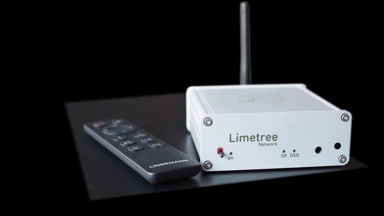 Lindemann Limetree Network II mit Fernbedienung daneben