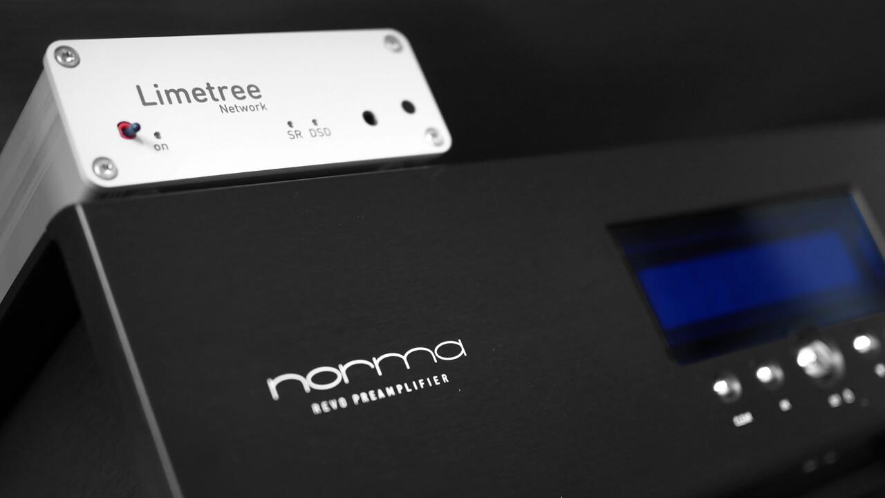 Lindemann Limetree Network II und Norma-Vorverstärker