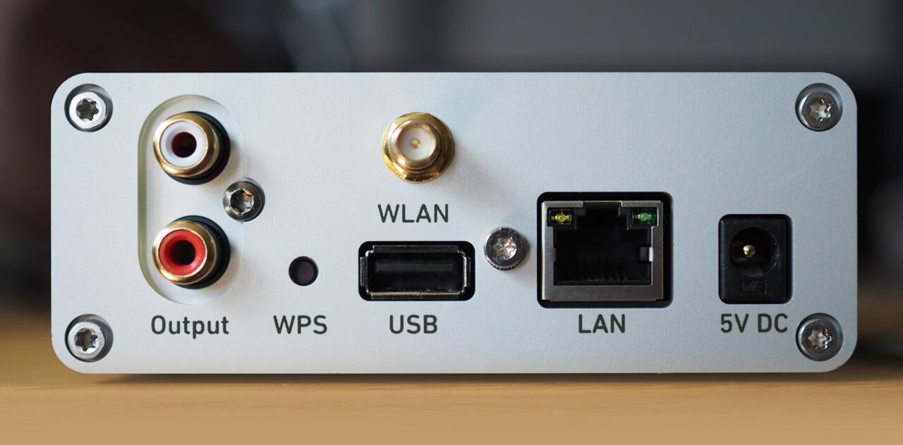 Lindemann Limetree Network II - Rückseite mit Schnittstellen