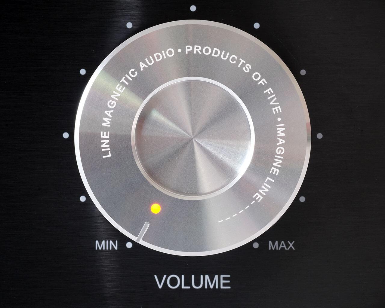 Volumeregler des Line Magnetic LM-150IA