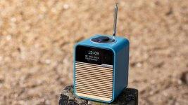 Ruark R1 MK4 Radio Beach Hut Blue   Limited Edition   News fairaudio