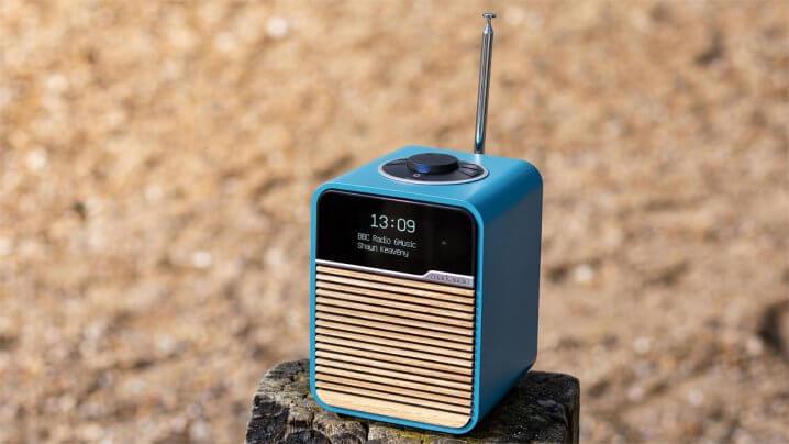 Ruark R1 MK4 Radio Beach Hut Blue | Limited Edition | News fairaudio