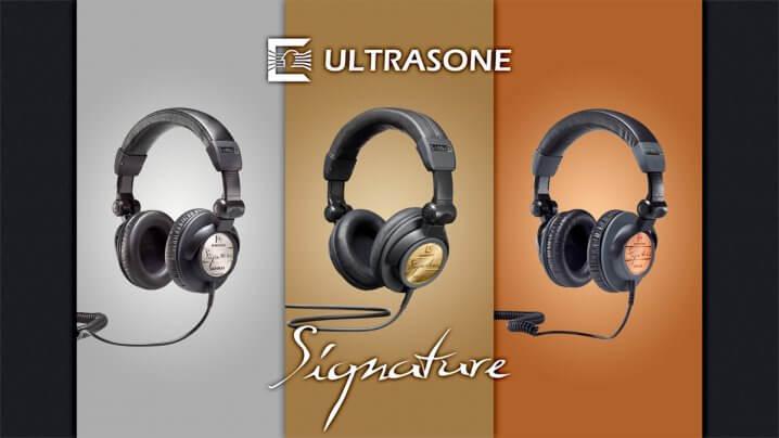 Ultrasone S-Logic-3-Technologie und drei neue Signature-Kopfhörer: Nicht nur für mobiles Hören