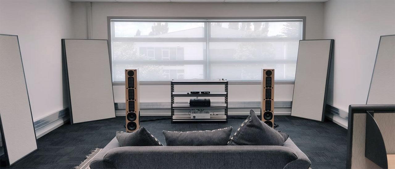Der Hörraum von Antipodes Audio