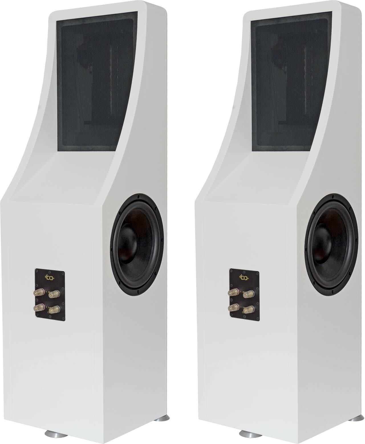 Rückansicht: Im Hochtonbereich arbeitet die Bohne Audio BB-10L als Dipol