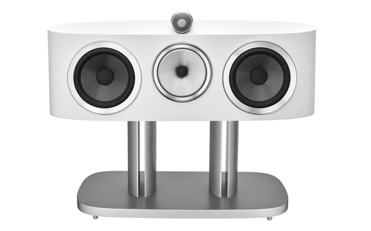 Heimkino-Freunde freuen sich über die Centerlautsprecher der Bowers & Wilkins 800 Diamond Lautsprecherserie, die die klassischen Stereomodelle ergänzen