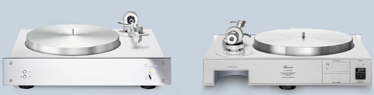 Burmester 217 Schallplattenspieler: Massiver Aufbau mit geradem Tonarm