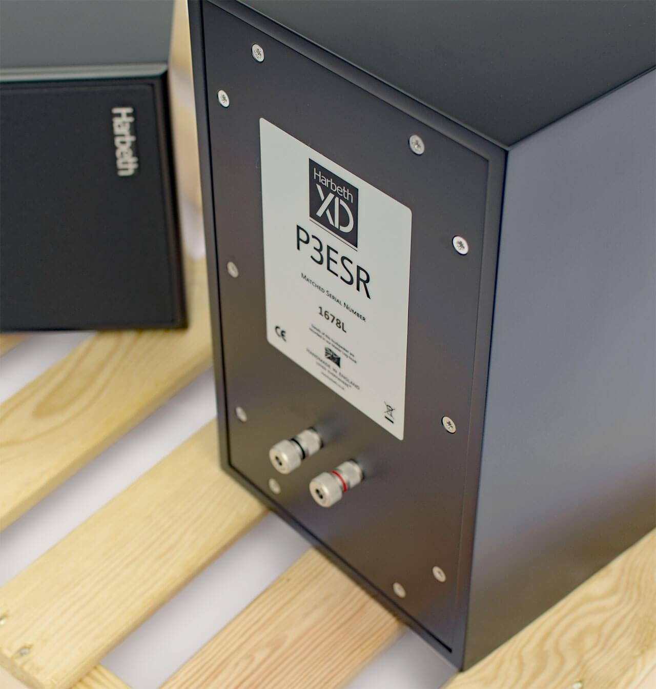 Harbeth P3ESR XD: geschlossener Kompaktlautsprecher