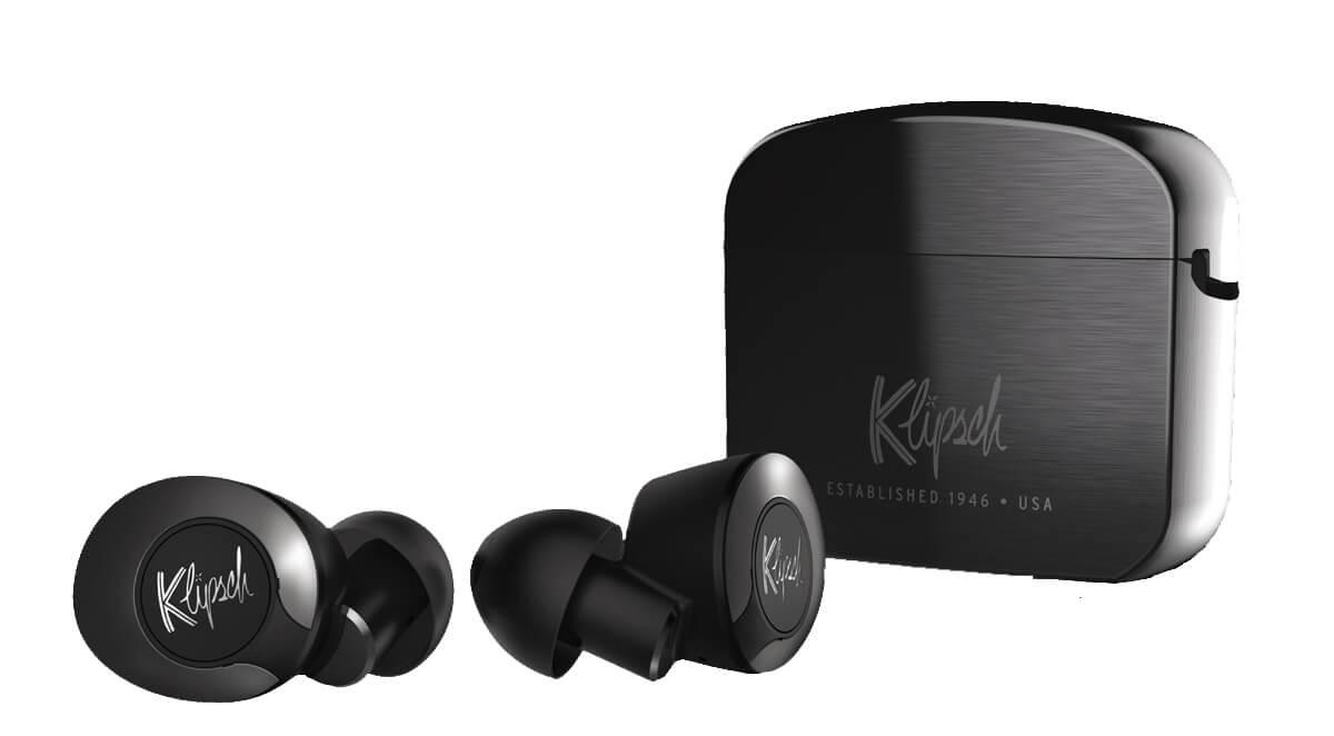 Klipsch T5 II True Wireless ANC Kopfhörer Ladecase