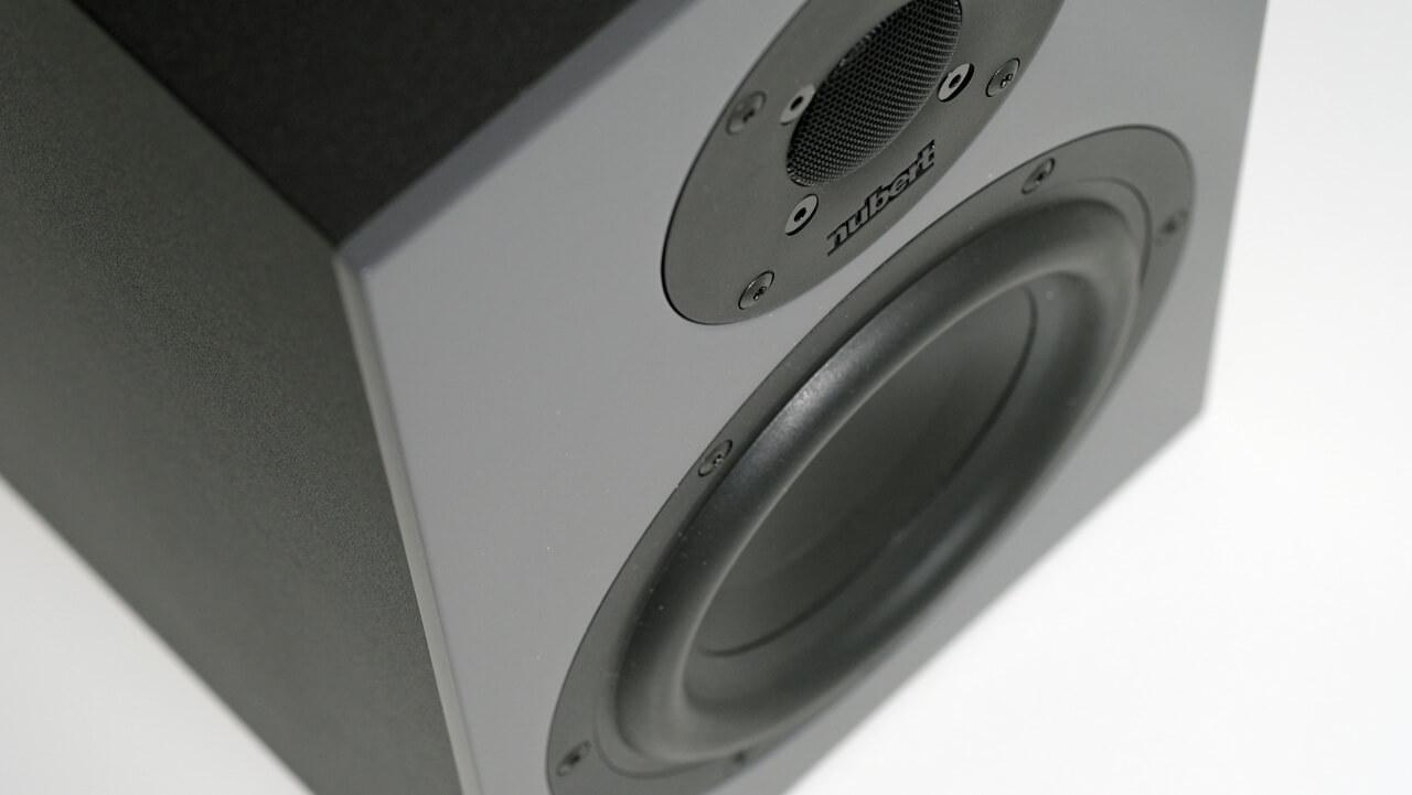 Anschnitt der Schallwand der Nubert nuBoxx B-40