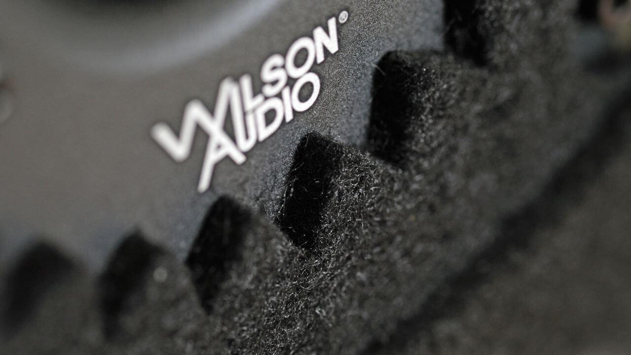 Wilson SabrinaX - Filz-Stern um Hochtöner