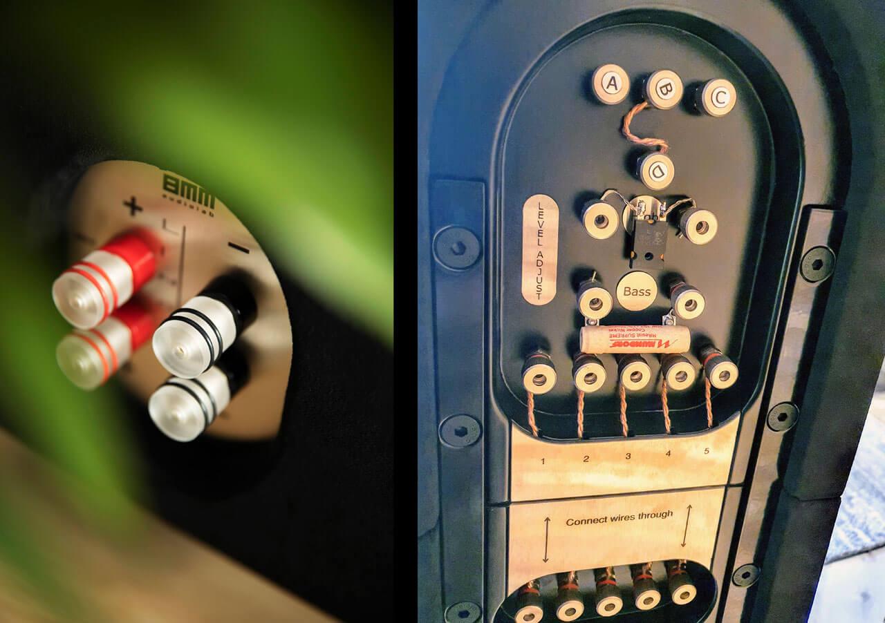 8MM audiolab Linga: Anschlüsse und Einstellmöglichkeiten