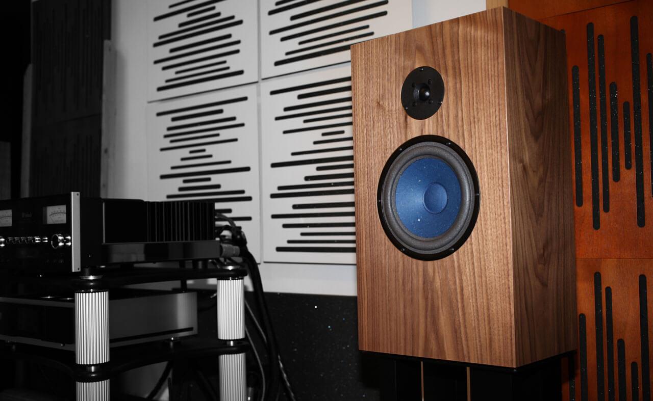 Audio Note AN-J/LX HEMP Lautsprecher von vorne