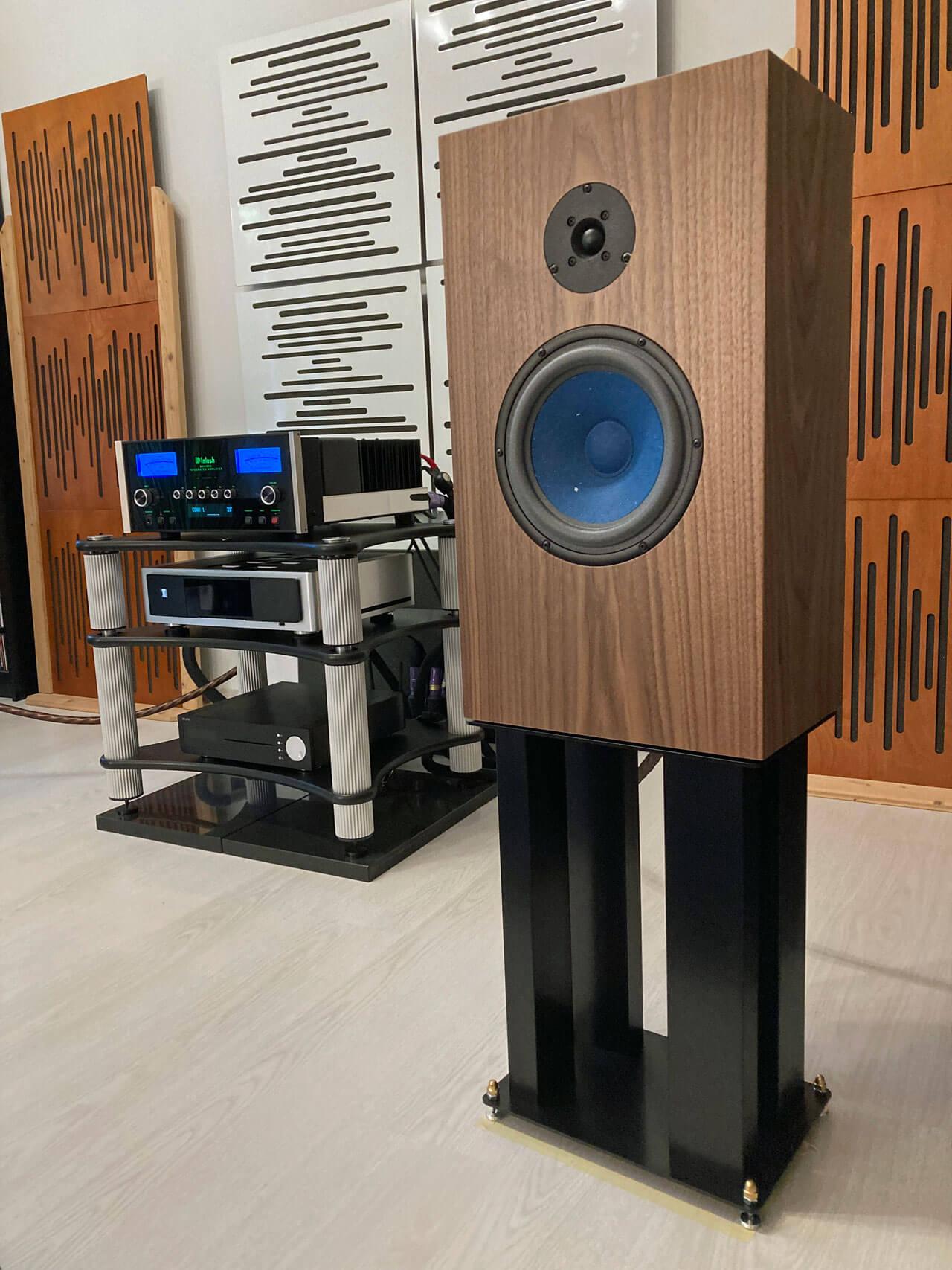 Audio Note AN-J/LX HEMP komplett mit Ständer