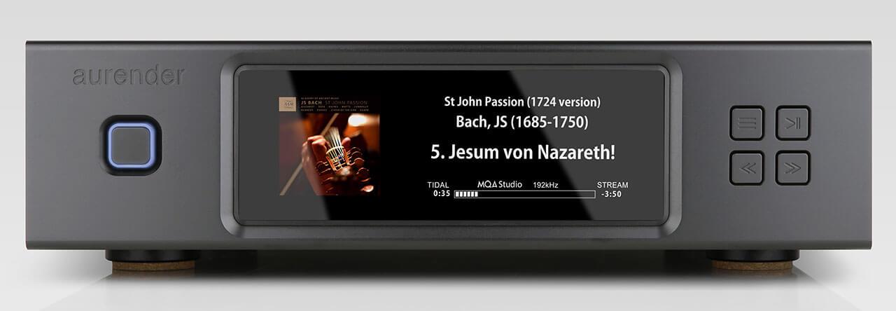Der Aurender N200 ist auch in Schwarz zu haben