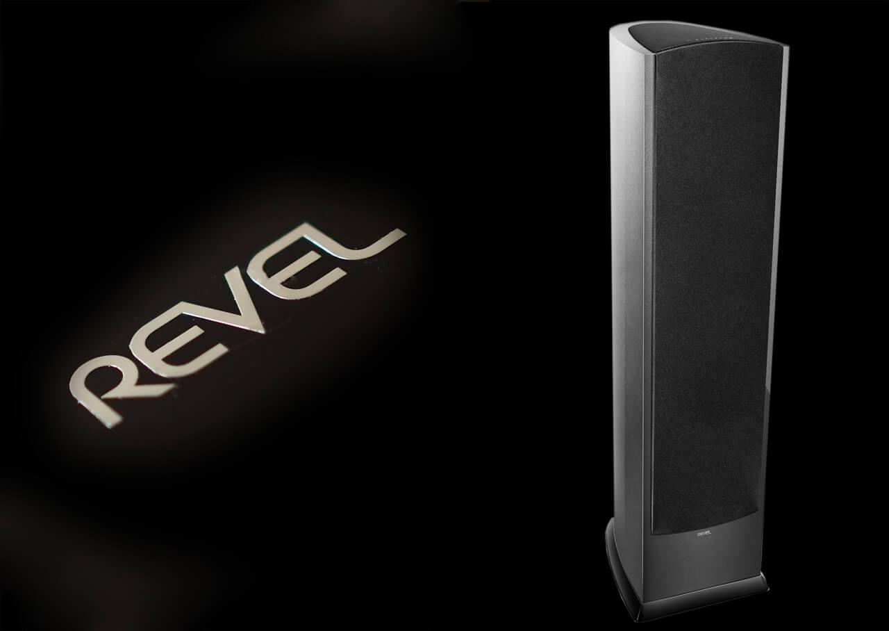 Revel Performa F328Be mit Lautsprecherabdeckung/Frontbespannung