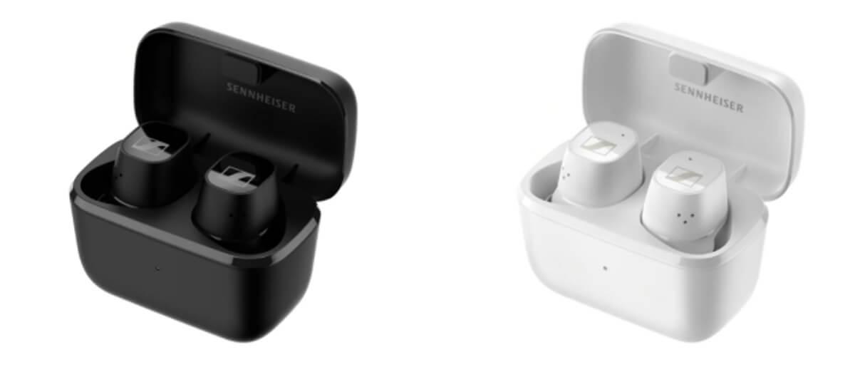 Sennheiser CX Plus True Wireless In-Ear mit Ladeschale in Schwarz und Weiß