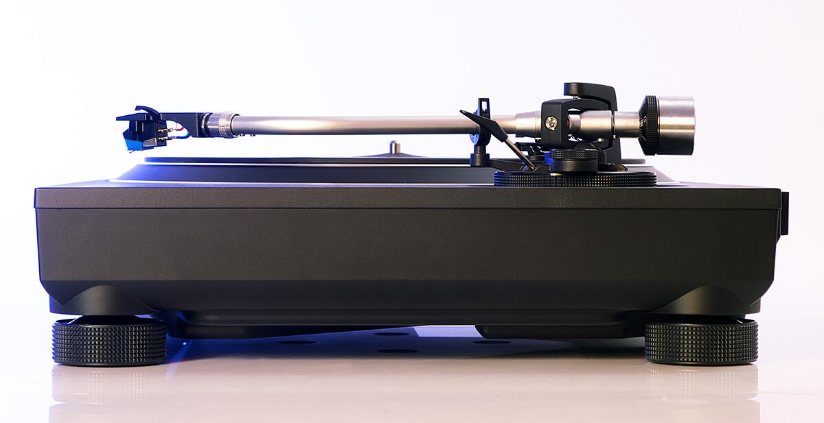 Technics SL-100C - Tonarm-Seite