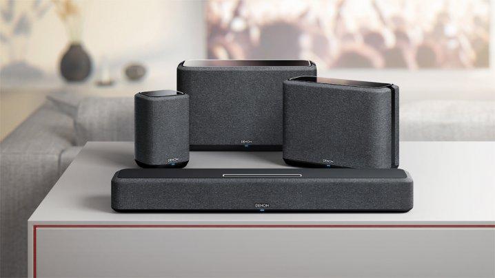 Denon Home Wireless Lautsprecher mit 5.1- Surround und Alexa-Integration