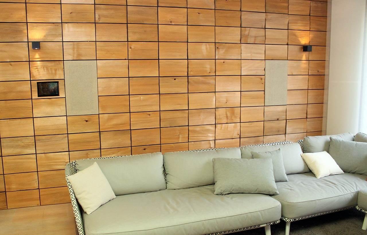Wand mit Einbaulautsprechern bei My Sound