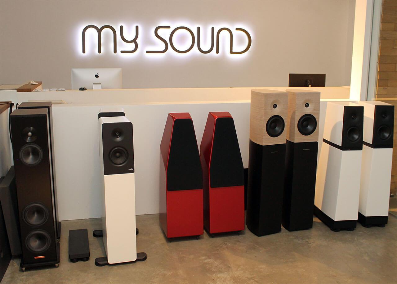 An edlen Lautsprechern mangelt es bei My Sound nicht