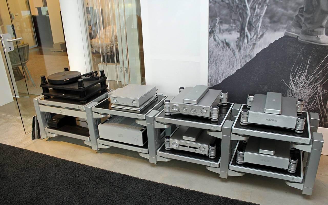 SME-Plattenspieler und Nagra-Elektronik