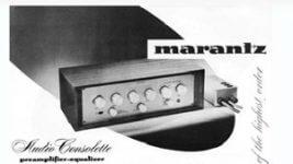 60 Jahre Marantz History Homepage