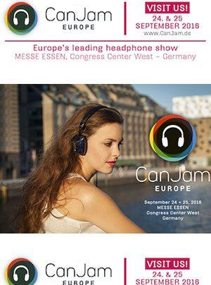 CanJam Europe Kopfhörer-Messe am 24. und 25. September 2016 in Essen