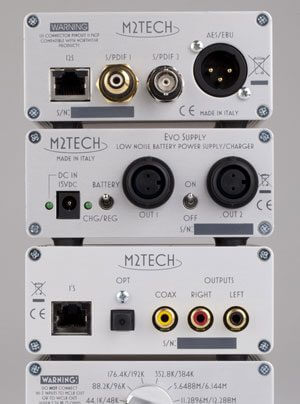 M2Tech EVO Clock und EVO DAC