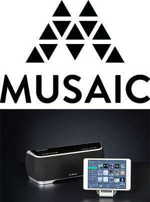 Musaic Multiroom-Musik-Player MP5 MP10