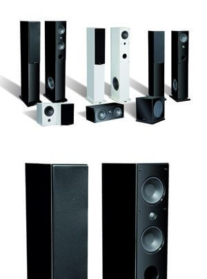 Advance Acoustic Kubik S Lautsprecherserie