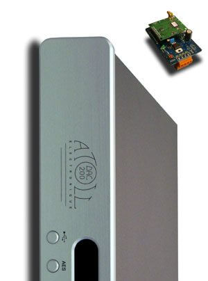 Atoll DAC 200 D/A-Wandler mit Wireless Board und Wireless Dongle